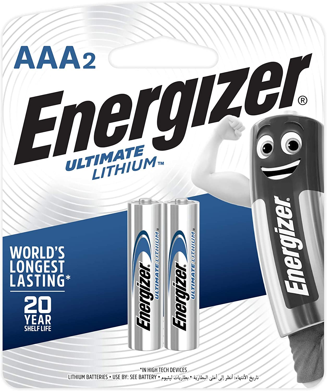 Energizer Lithium Batteries (2)